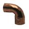 Coude cuivre à souder mâle-femelle petit rayon 92CU angle 90° diam.18mm sous coque de 2 pièces - Gedimat.fr