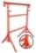 Tréteau de maçon tubulaire peint N°2 pieds pivotants tube diam.49mm haut.réglable de 1,20m à 2,10m - Gedimat.fr