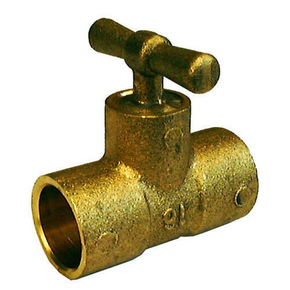 Té laiton brut purgeur droit à souder pour tube cuivre diam.14mm avec lien 1 pièce - Gedimat.fr