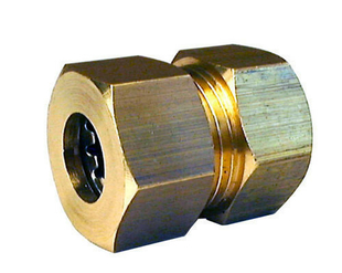 Raccord union laiton brut à joint mixte gripp à visser femelle diam.15x21mm / tube cuivre diam.12mm sous coque 1 pièce - Gedimat.fr