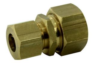 Raccord union laiton brut double bicône réduit pour tube cuivre diam.12mm/diam.10mm en vrac - Gedimat.fr