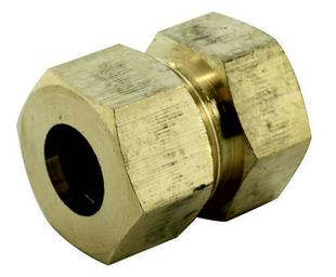 Raccord union laiton brut à joint mixte gripp à visser femelle diam.15x21mm pour tube cuivre diam.12mm en vrac 1 pièce - Gedimat.fr