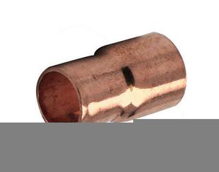 Manchon cuivre à souder femelle-femelle réduit diam.28-22mm 1 pièce - Gedimat.fr