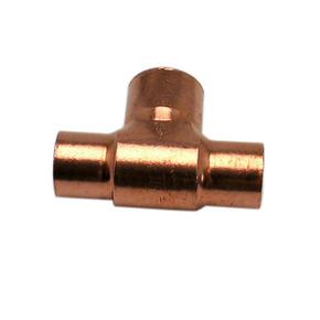 Té cuivre à souder réduit diam.28x16x28mm 1 pièce - Gedimat.fr