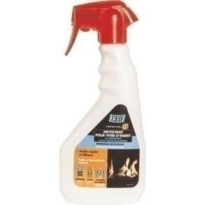 Liquide nettoyant pour vitre d'insert PROPFEU flacon pulvérisable 500ml - Gedimat.fr
