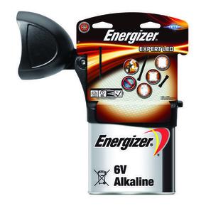 Phare aluminium ENERGIZER LED EXPERT LED avec une pile LR820 - 400/125 lumens - Gedimat.fr