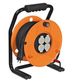 Enrouleur GARANT avec câble 40m HO7 RN-F 3G1,5 - Gedimat.fr