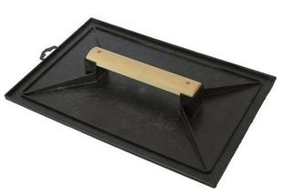 Taloche noire plastique - 28x41cm - Gedimat.fr