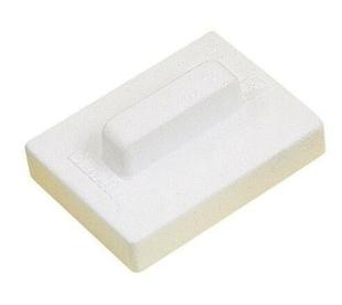 Frottoir polystyrène expansé rectangulaire larg.15cm long.20cm blanc - Gedimat.fr