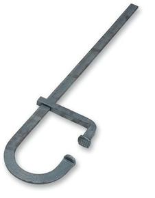 Serre-joints de cimentier plat serrage 60cm saillie 17,5cm section 30x8mm Long.1m - Gedimat.fr