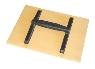 Taloche bois rectangulaire poignée ovale monobloc 27x14cm - Gedimat.fr
