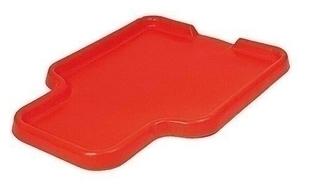 Bac à gâcher rectangulaire ép.7mm 1,50x2m orange - Gedimat.fr