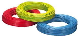 Câble électrique unifilaire cuivre H07VU section 1,5mm² coloris violet en bobine de 10m - Gedimat.fr