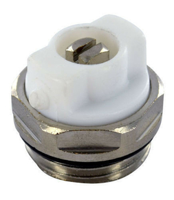 Bouchon purgeur pour radiateur à eau chaude diam.15x21mm sous coque de 1 pièce - Gedimat.fr