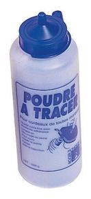 Poudre à tracer biberon 1000g bleue - Gedimat.fr