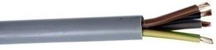 Câble électrique souple H05VVF section 3G6mm² coloris gris vendu à la coupe au ml - Gedimat.fr