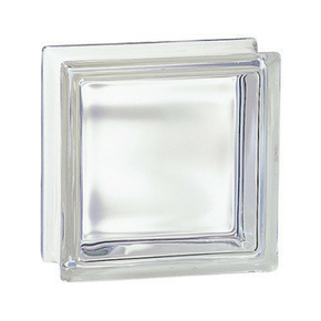 Brique de verre 198 ép.8cm dim.19x19cm transparente - Gedimat.fr