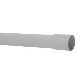 Tube IRL 3321 tulipé diam.extérieur 25mm long.2m coloris gris - Gedimat.fr