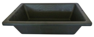 auge de ma on en mati re caoutchout e prochok 12l noir. Black Bedroom Furniture Sets. Home Design Ideas