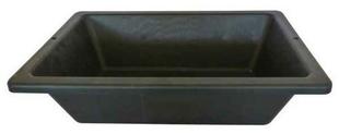 auge de ma on en mati re caoutchout e prochok 25l noir. Black Bedroom Furniture Sets. Home Design Ideas