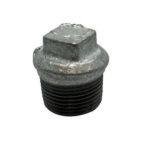 Bouchon acier galvanisé mâle diam.33x42mm avec lien 1 pièce - Gedimat.fr