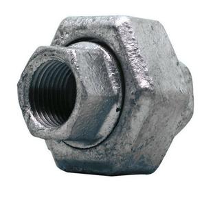 Raccord union droit acier galvanisé double femelle égal FG340 diam.33x42mm avec lien 1 pièce - Gedimat.fr