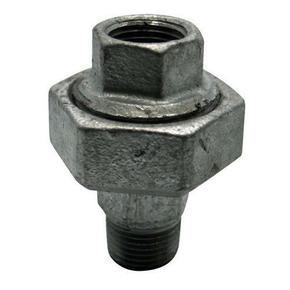 Raccord union droit acier galvanisé mâle femelle égal FG341 diam.26x34mm avec lien 1 pièce - Gedimat.fr