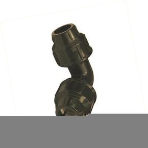 Coude plastique égal pour tuyau polyéthylène diam.25mm en vrac 1 pièce - Gedimat.fr