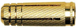 Cheville laiton MS - 6x22mm - boite de 100 pièces - Gedimat.fr