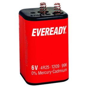 Pile saline 425 6 volts EVEREADY type 4R25 vendu à l'unité - Gedimat.fr