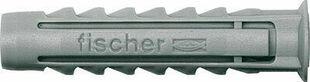 Cheville nylon SX+collerette - 6x30mm - boite de 100 pièces - Gedimat.fr