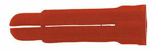 Cheville à expansion multi-usages P8C polypropylène rouge diam.8mm long.34mm 100 pièces - Gedimat.fr