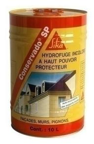 Hydrofuge de fa ade haut pouvoir protecteur conservado for Hydrofuge sika liquide