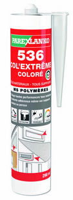 Mastic polymère 536 COL'EXTREM cartouche 290ml coloris gris - Gedimat.fr