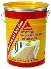 Revêtement imperméable SIKA SPECIAL BALCONS seau de 6kg gris - Gedimat.fr