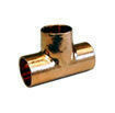 Té cuivre à souder égal femelle-femelle 130CU diam.14mm en sachet de 10 pièces - Gedimat.fr