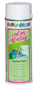 Bombe de peinture aérosol déco 400ml blanc brillant ral 9010 - Gedimat.fr