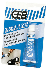 Graisse silicone hydrofuge tube 20g translucide - Gedimat.fr