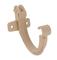 Crochet bandeau plastique pour gouttière PVC de 16 coloris sable 5 pièces - Gedimat.fr