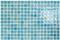 Emaux de verre de 2,5x2,5cm pour mur et piscine NIEVE sur trame de 31,1x46,7cm coloris azul claro - Gedimat.fr