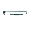 Crochet crémaillère à visser en acier long.50cm noir - Gedimat.fr