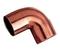 Coude cuivre à souder petit rayon femelle femelle angle 90° diam.14mm sachet de 10 pièces - Gedimat.fr
