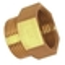 Mamelon laiton 246E égal mâle femelle diam.26x34mm - Gedimat.fr