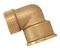 Coude laiton brut mâle femelle égal à visser réf.94 diam.12x17mm en vrac 1 pièce - Gedimat.fr