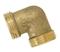 Coude laiton brut mâle mâle à visser réf.90 diam.15x21mm en vrac 1 pièce - Gedimat.fr