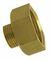Mamelon laiton brut réduit à visser réf.246 femelle diam.15x21mm mâle diam.12x17mm en sachet de 10 pièces - Gedimat.fr