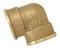 Coude laiton brut femelle femelle à visser réf.90 diam.20X27mm en vrac 1 pièce - Gedimat.fr