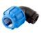 Coude polyéthylène plastique femelle 15x21 diam.tube 20mm - Gedimat.fr