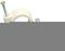 Attache cavalier à clouer pour câble rond diam.3 à 4mm coloris blanc en sachet de 25 pièces - Gedimat.fr