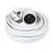 Rallonge prolongateur électrique mâle femelle 2 pôles + terre 16A avec cordon d'alimentation rond coloris blanc câble H05VVF 3G1,5mm² long.10m sous film de 1 pièce - Gedimat.fr